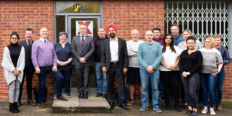 Slough MP Visits X1